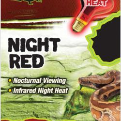 Zilla Night Red Incandescent Spot Bulb 150W