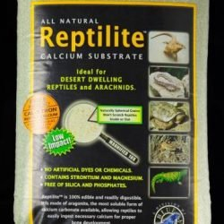 CaribSea All Natural Reptile Calcium Substrate Moss Green 20lb