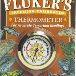 Fluker's Precision Calibrated Round Thermometer