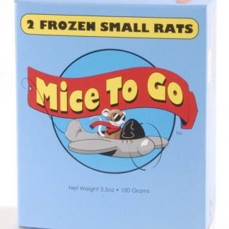 Mice To Go Frozen Small Rats 2pk