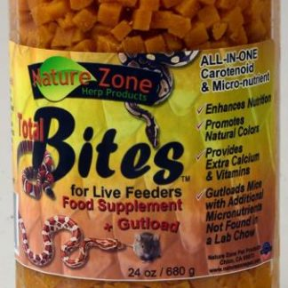 Nature Zone Total Bites for Live Feeders 24 oz