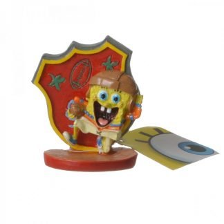 Spongebob Football Player Aquarium Ornament