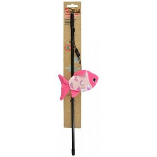 Spot Shimmer Glimmer Teaser Wand Cat Toy - Assorted Styles  (1 Count)
