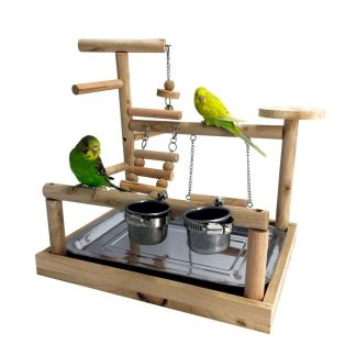 Mrli Pet Play Stand for Birds-Parrot Playstand