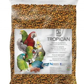 Tropican Parrot Food Granules, Formula for Completely Balanced and Flavorful Maintenance Diet (20lb)