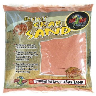 Zoo Med Hermit Crab Sand Mauve 2lb