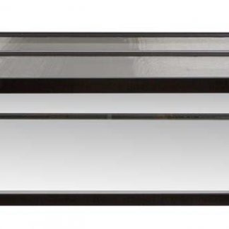Zoo Med Low Boy Aquarium with Stainless Steel Screen Top 48X24X10 50gal