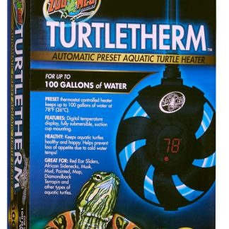 Zoo Med Turtletherm Automatic Preset Aquatic Turtle Heater  (300 Watt (Up to 100 Gallons))