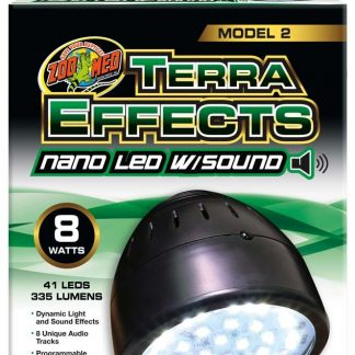 Zoo Med Terra Effects Model 2 Nano LED Light with Sound 8watts