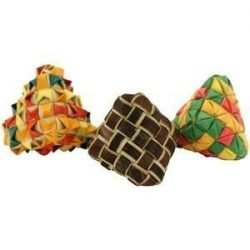 Diamond Woven Foot Toy 3 Pack
