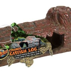 Zoo Med Ceramic Catfish Log Medium